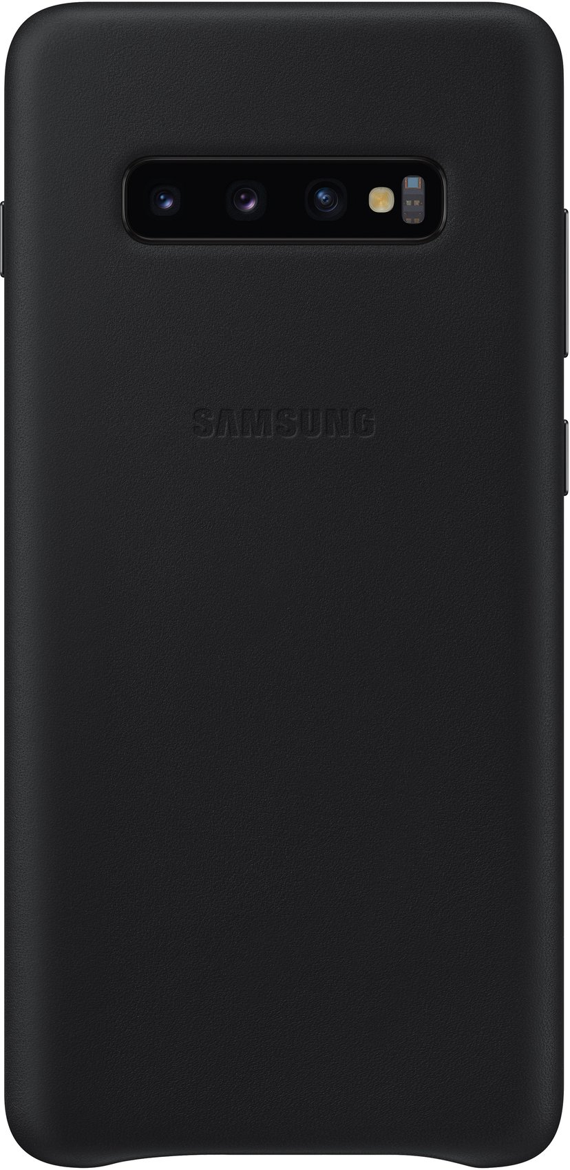 Samsung Leather Cover EF-VG975 Samsung Galaxy S10+ Svart