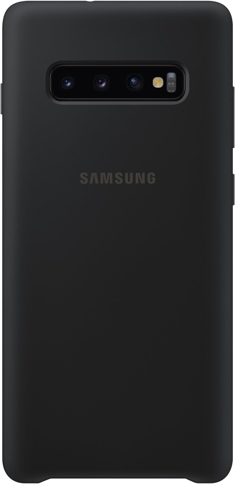 Samsung Silicone Cover EF-PG975 Samsung Galaxy S10+ Svart