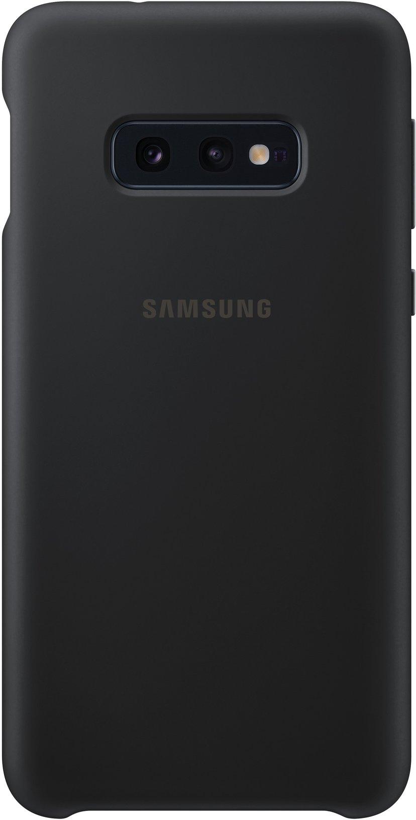Samsung Silicone Cover EF-PG970 Samsung Galaxy S10e Musta