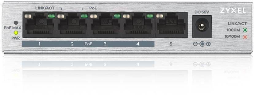 Zyxel GS1005HP 5-Port Unmanaged PoE 60W Switch