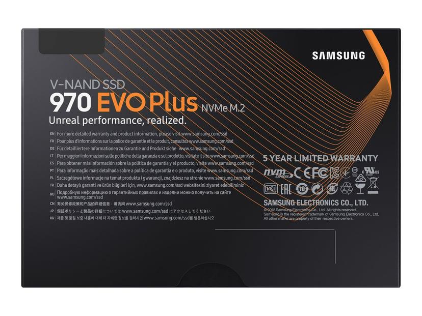 Samsung 970 EVO Plus 2000GB M.2 2280 PCI Express 3.0 x4 (NVMe)