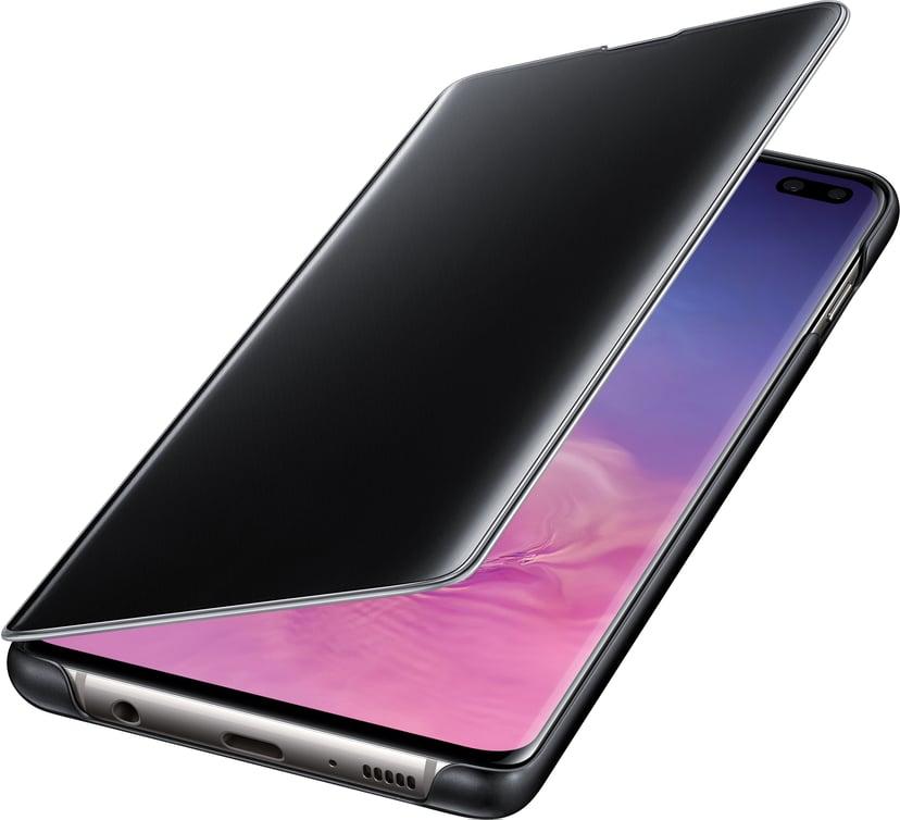 Samsung Clear View Cover EF-ZG975 Samsung Galaxy S10+ Zwart
