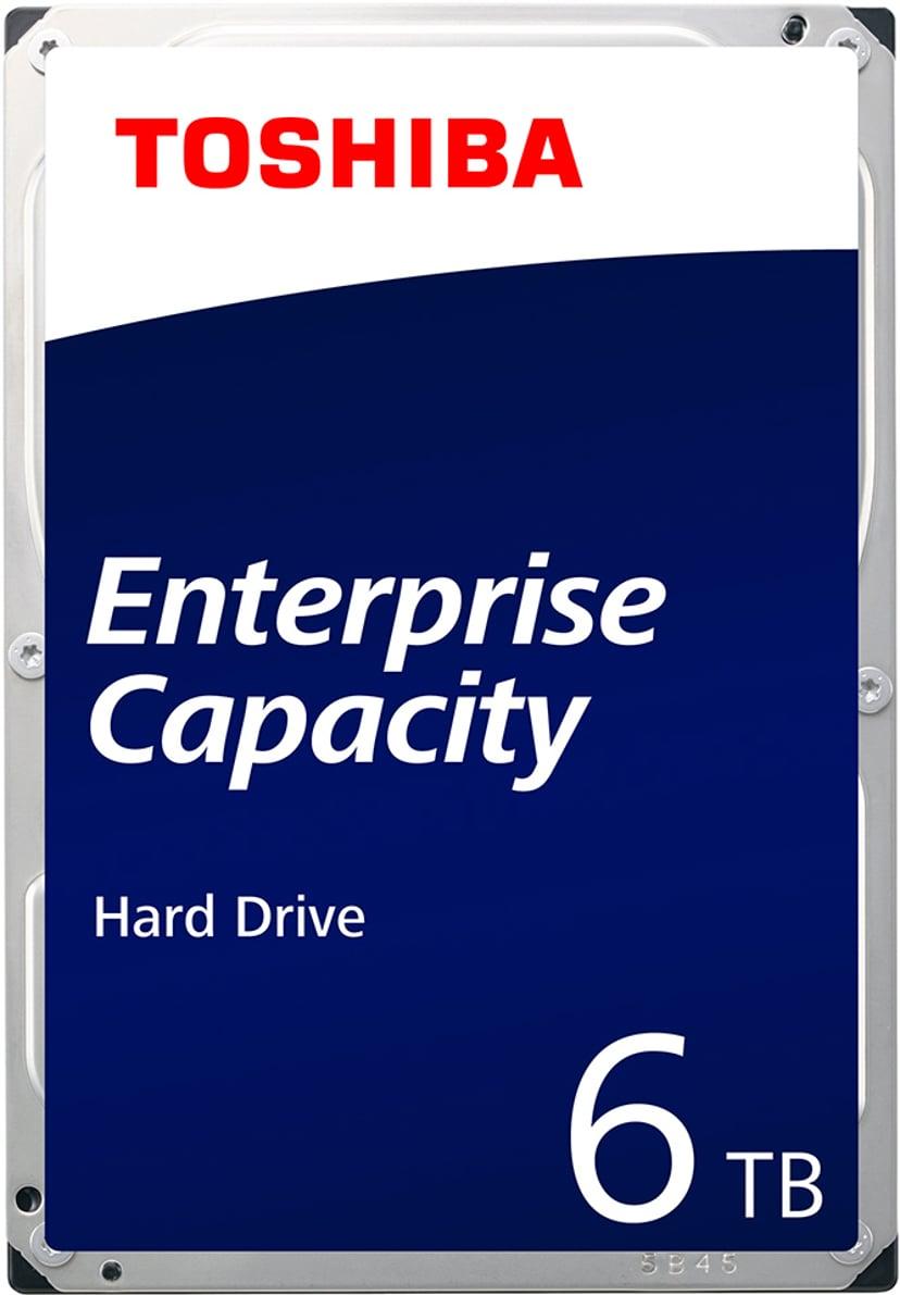 """Toshiba Enterprise Capacity 4KN 6TB 3.5"""" Serial ATA-600"""