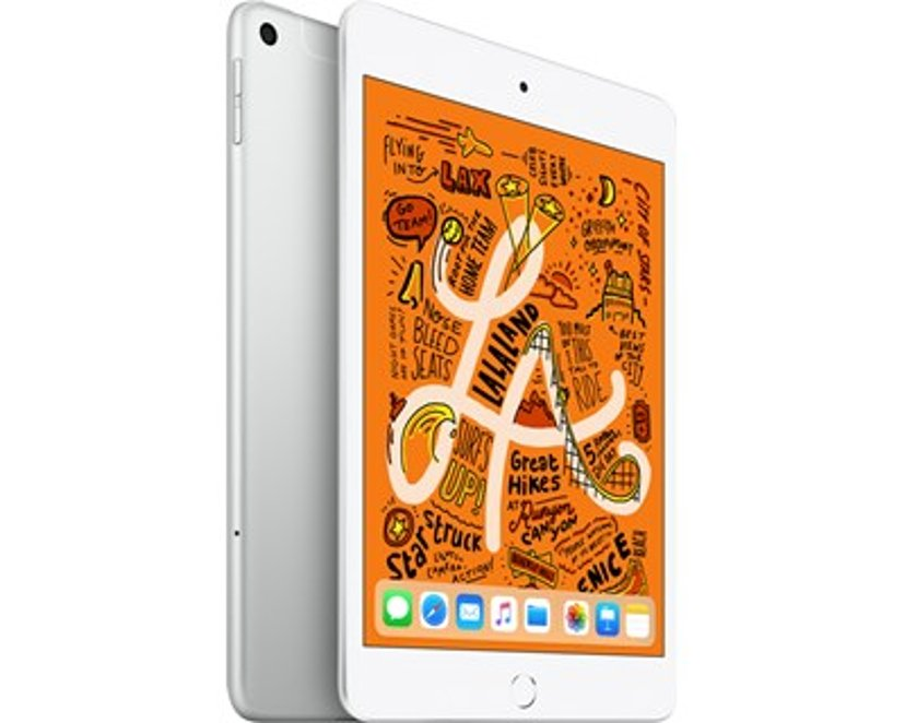 "Apple iPad Mini Wi-Fi + Cellular 7.9"" A12 Bionic 256GB Sølv"