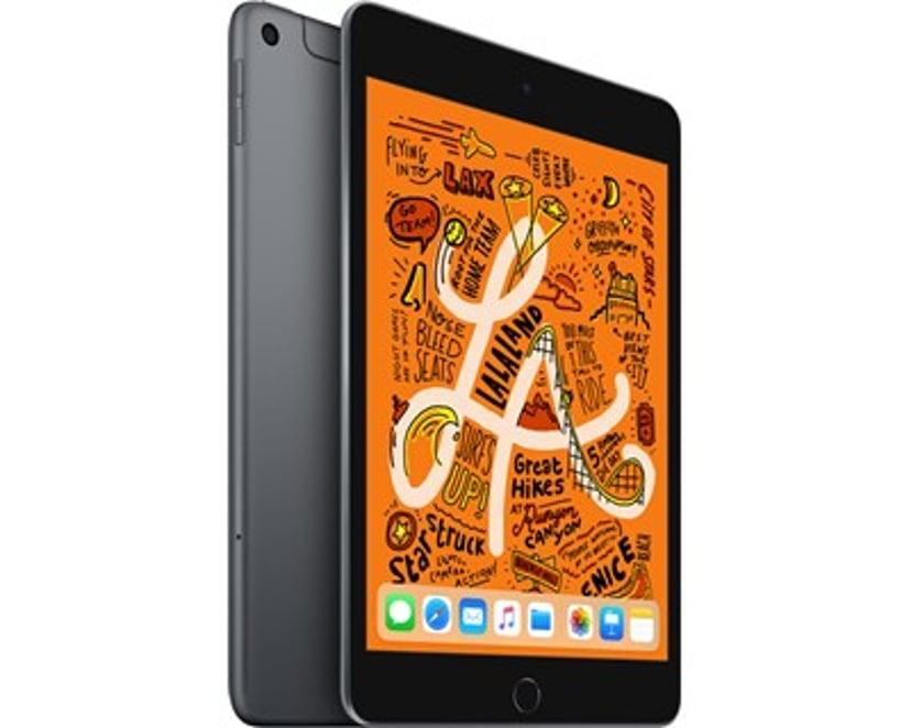 """Apple iPad Mini Wi-Fi + Cellular 7.9"""" A12 Bionic 256GB Romgrå"""