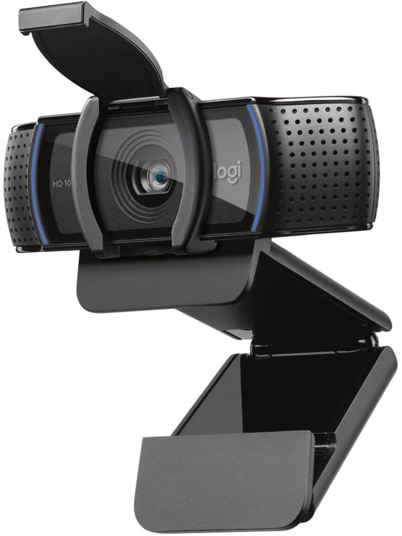 Logitech C920S HD Pro 1920 x 1080 Webbkamera Svart