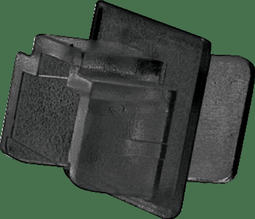 Lindy RJ45 Dammskydd 10-Pack Svart