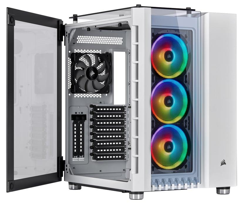 Corsair Crystal Series 680X RGB White Hvit