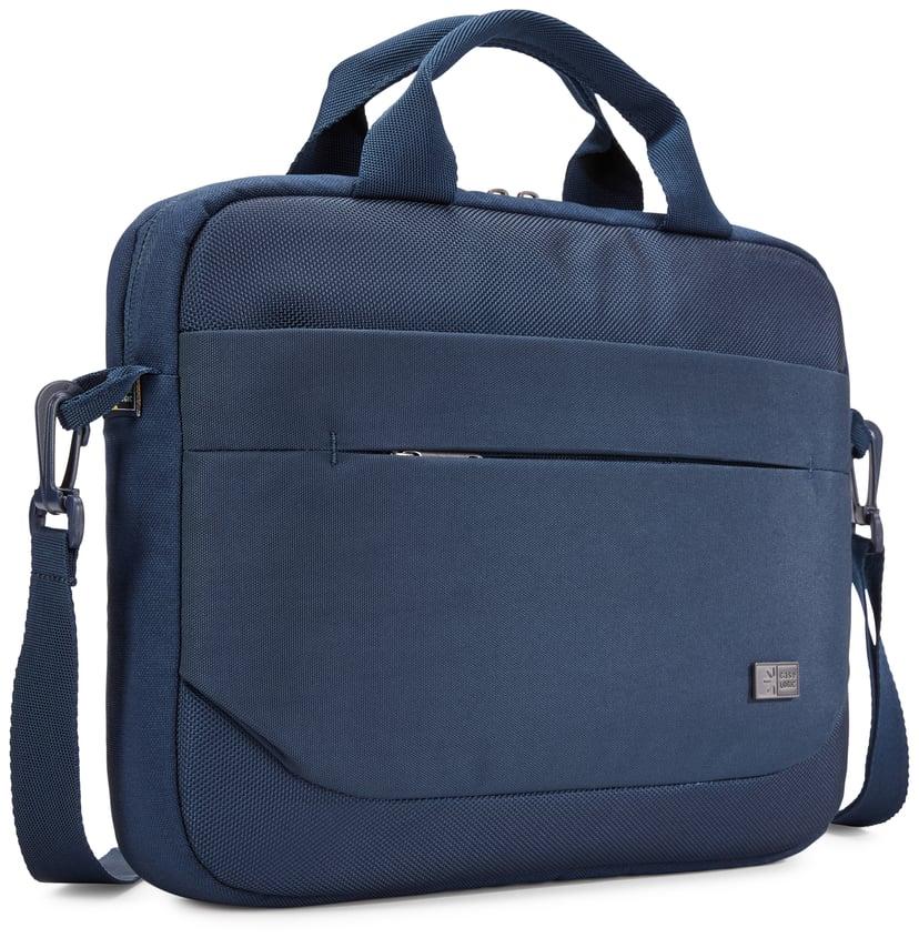 "Case Logic Advantage Laptop Attaché 11.6"" Dark Blue 12"""