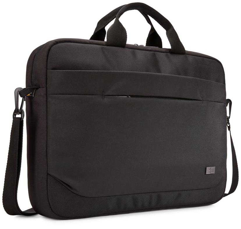 """Case Logic Advantage Laptop Attaché 15.6"""" Black 15.6"""" Polyester"""