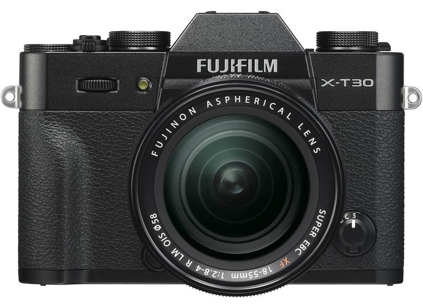 Fujifilm X-T30 Black + XF 18-55mm f/2.8-4 R
