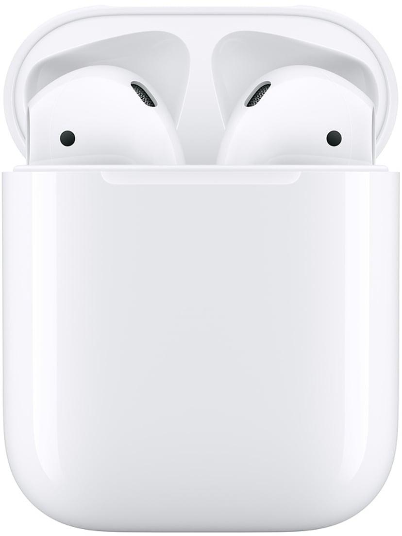 Apple AirPods (2019) Med Laddningsetui Vit