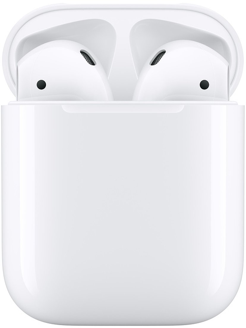 Apple AirPods (2nd Gen) Med Laddningsetui Vit
