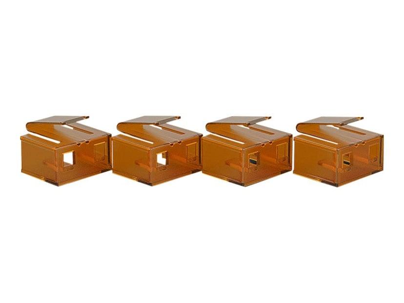 Lindy Port Blocker RJ45 Orange 10-Pack
