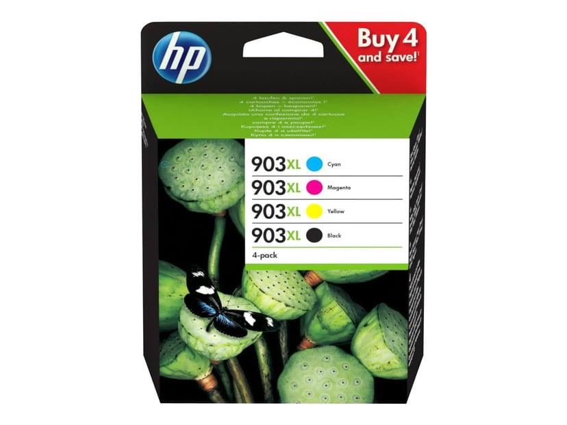 HP Blæk Multipak 903XL (BK/C/M/Y) - OfficeJet 69XX/OfficeJet Pro 69XX