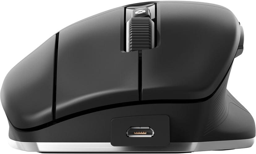 3DConnexion Cadmouse Pro Wireless Svart Mus Trådløs