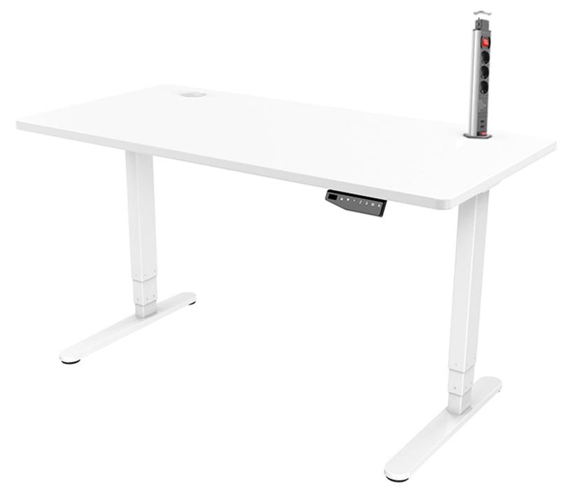 Prokord Skrivbord med popup grenuttag
