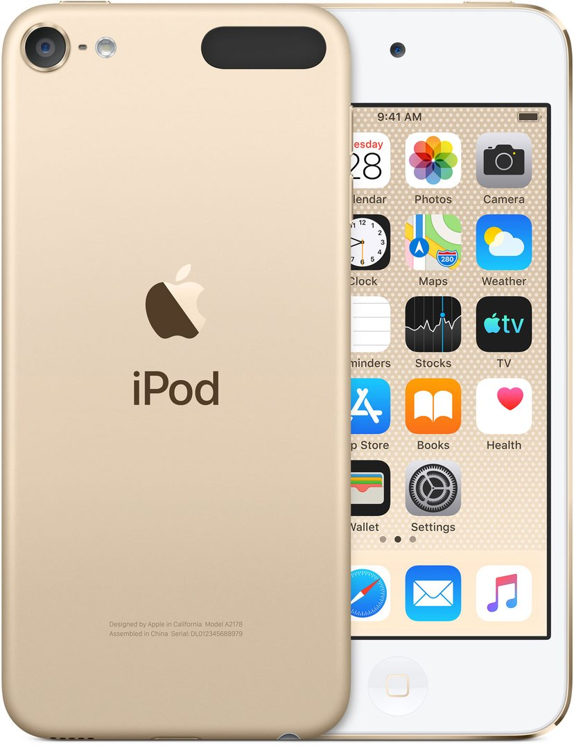 Apple iPod Touch 256GB - Guld