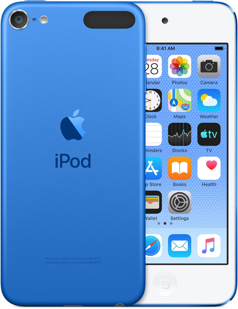 Apple iPod Touch 128GB - Blå