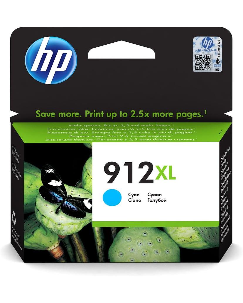 HP Bläck Cyan 912XL 825 Pages - OfficeJet Pro 8022/8024/8025