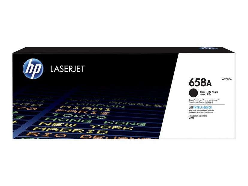 HP Värikasetti Musta 658A 7K - M751
