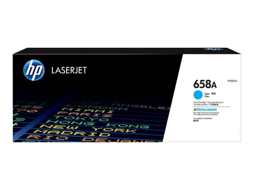 HP Värikasetti Syaani 658A 6K - M751