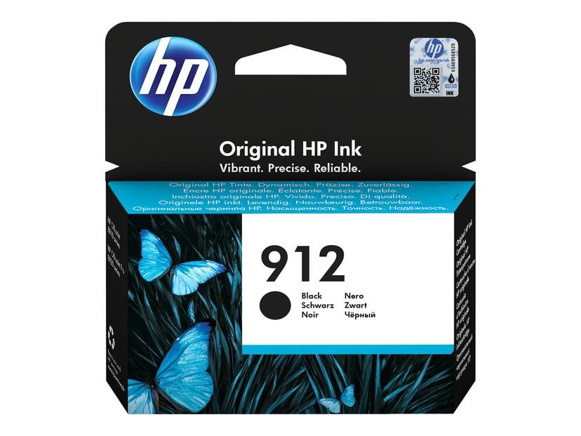 HP Bläck Svart 912 300 Pages - OfficeJet Pro 8022/8024/8025
