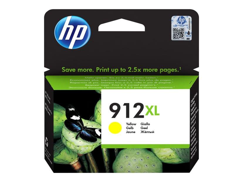 HP Bläck Gul 912XL 825 Pages - OfficeJet Pro 8022/8024/8025
