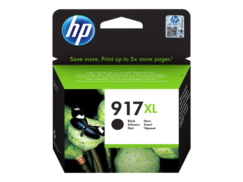 HP Blekk Svart 917XL 1.5K - OfficeJet Pro 8022/8024/8025