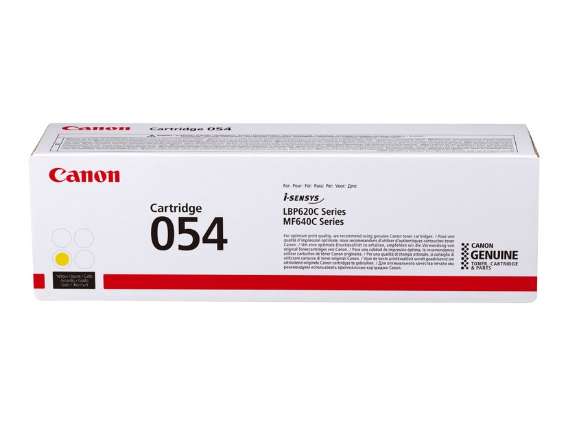 Canon Värikasetti Keltainen 054 1.2K