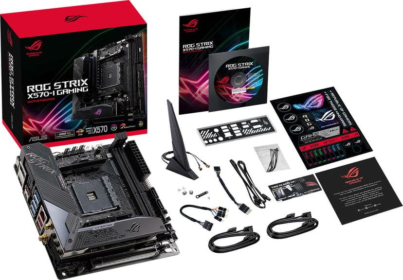 ASUS ROG STRIX X570-I GAMING Mini ITX Bundkort