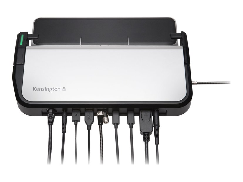 Kensington LD5400T Thunderbolt 3 Dual 4K Dock with K-Fob Smart Lock- Single User Thunderbolt 3 Portreplikator