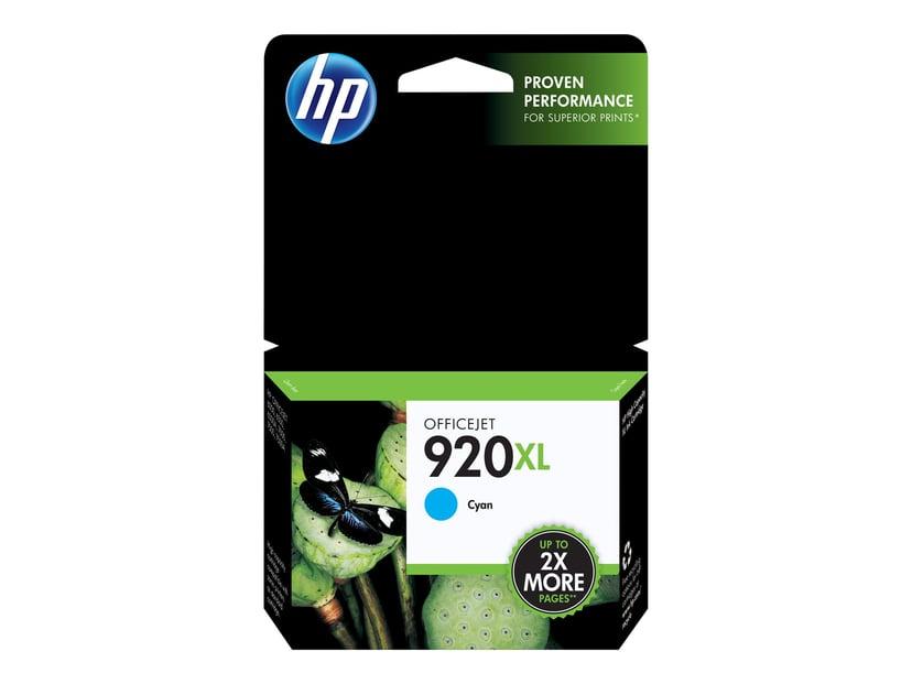 HP Bläck Cyan 920XL - OfficeJet 6000/6000 E609A/6500/6500 E709A