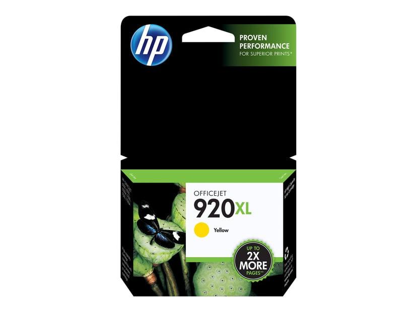 HP Bläck Gul 920XL OfficeJet 6000/6000 E609A/6500/6500 E709A