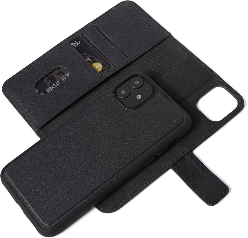 Decoded Detachable Wallet iPhone 11, iPhone Xr Svart
