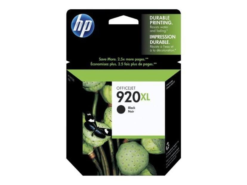 HP Blekk Svart 920XL - OfficeJet 6000/6000 E609A/6500/6500 E709A