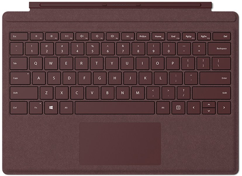 Microsoft Surface Pro Signature Type Cover Poppy Red