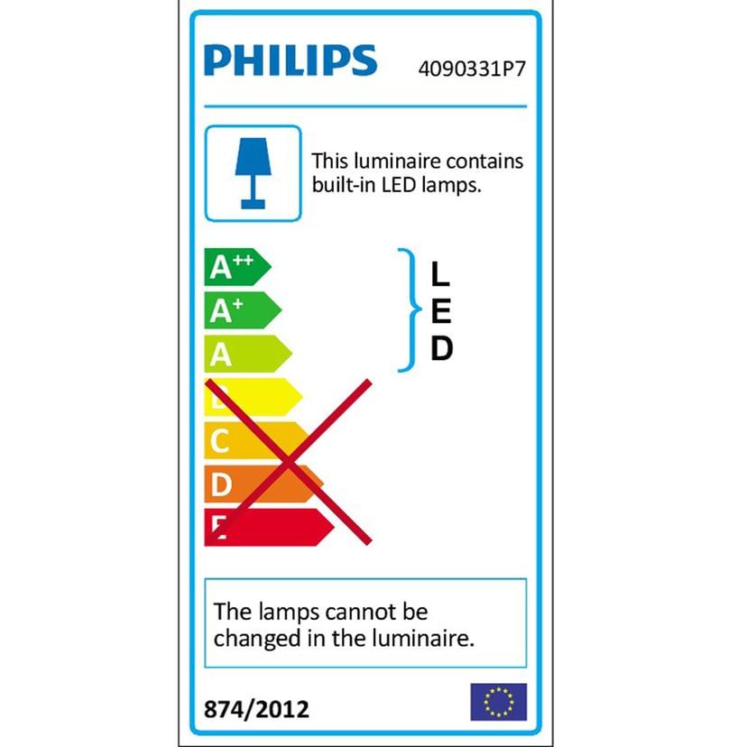 Philips Hue Ensis Pendel White/Color Vit