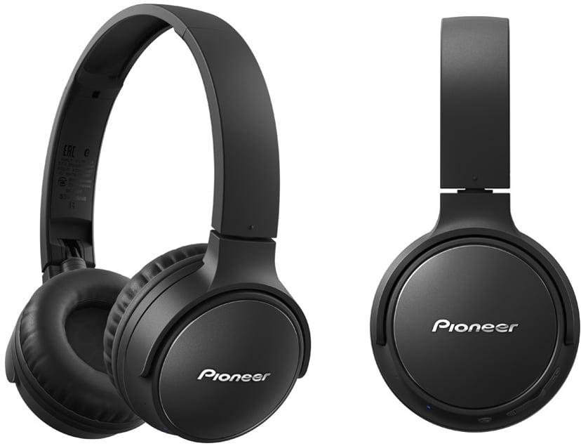 Pioneer S3 Wireless On-Ear Svart