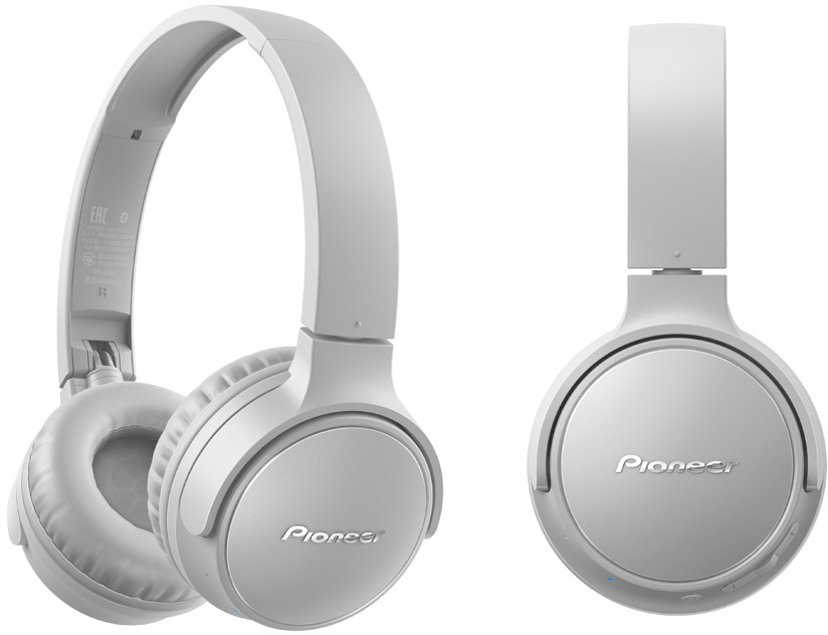 Pioneer S3 Wireless On-Ear Grå