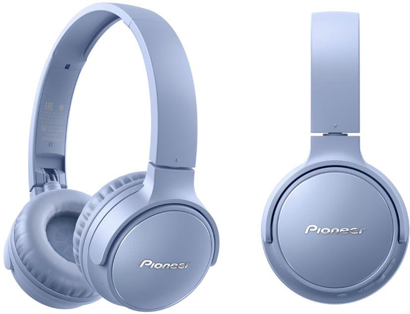 Pioneer S3 Wireless On-Ear Blå