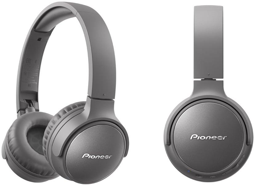 Pioneer S6 Wireless NC Over-Ear Grå