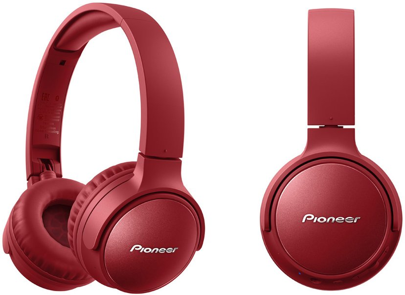 Pioneer S6 Wireless NC Over-Ear Röd