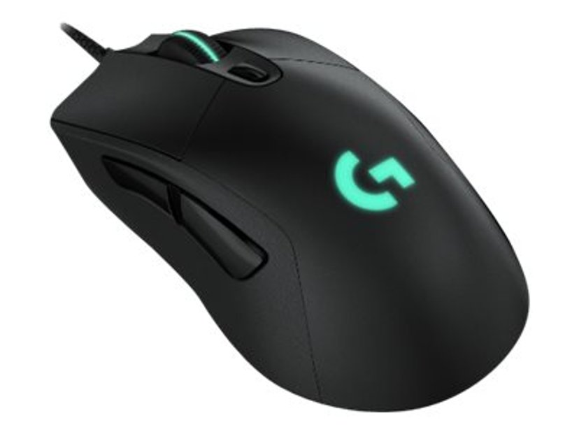Logitech Gaming Mouse G403 HERO 16,000dpi Mus Kabling Sort