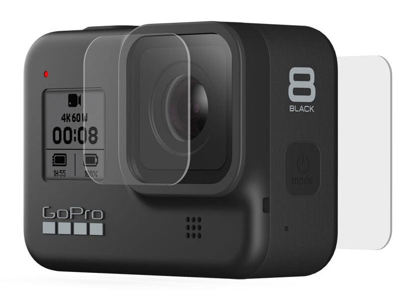 GoPro Tempered Glass Lens + Screen Protectors Hero8 Black