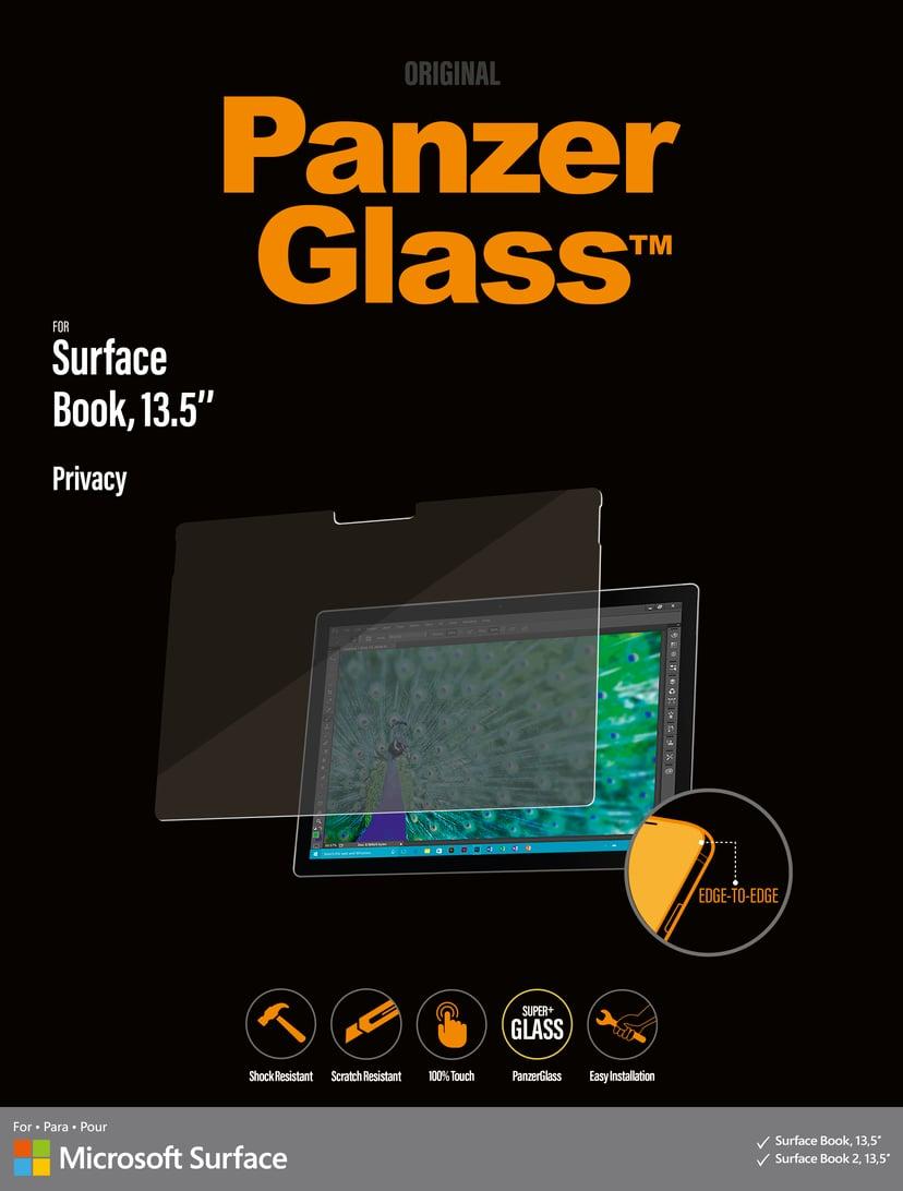 "Panzerglass Edge-to-Edge Privacy Microsoft Surface Book/Book2 13,5"""