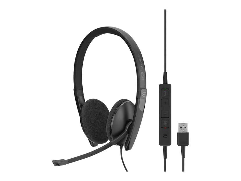 EPOS   SENNHEISER ADAPT SC160 USB Stereo Headset Svart, Vit