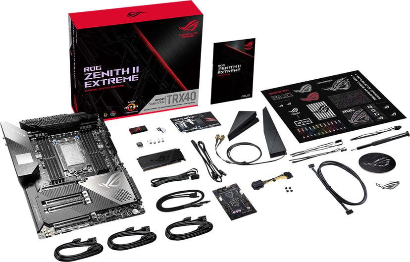 ASUS ROG Zenith II Extreme Utökad ATX Moderkort