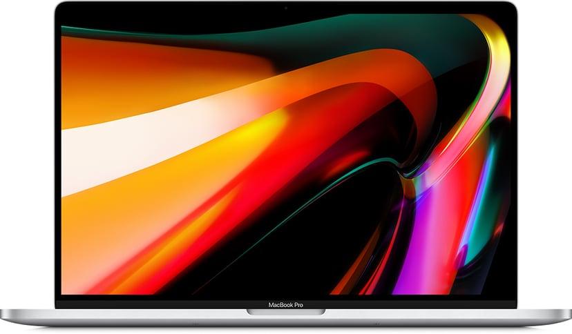 "Apple MacBook Pro (2019) Sølv Core i7 16GB SSD 512GB 16"""