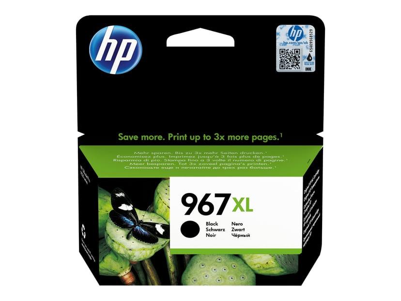 HP Blekk Svart No 967XL 3K